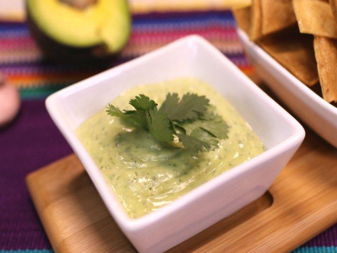 Make guacamole sauce, no avocado!
