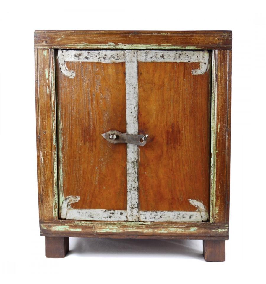 petit meuble indien ancien 2 portes
