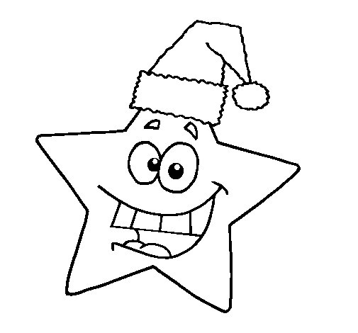 christmas star coloring page coloringcrew com