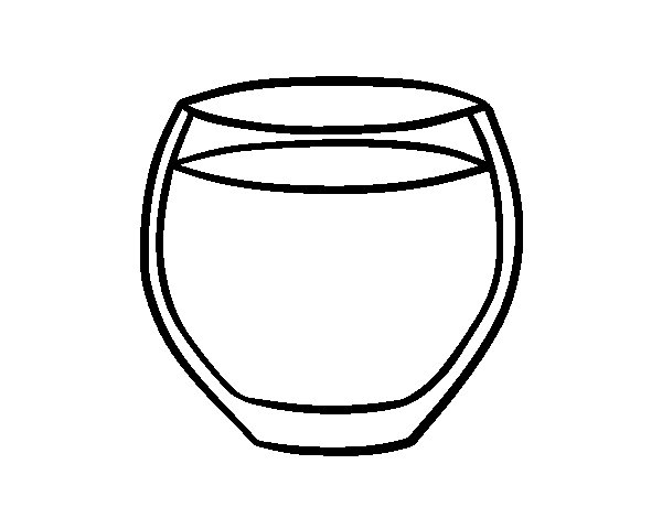 glass of water coloring page coloringcrew com