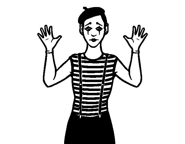 mime coloring pages coloring pages