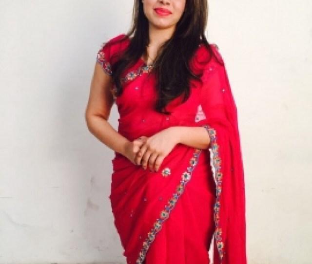 Magenta Pink Saree
