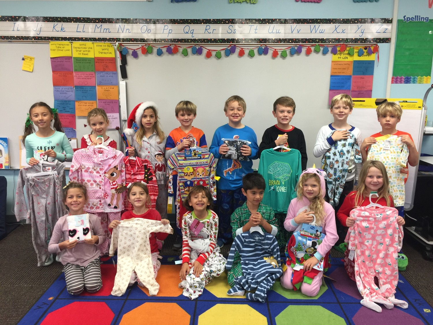 Bolles Pvb Campus First Graders Celebrate Snow Day