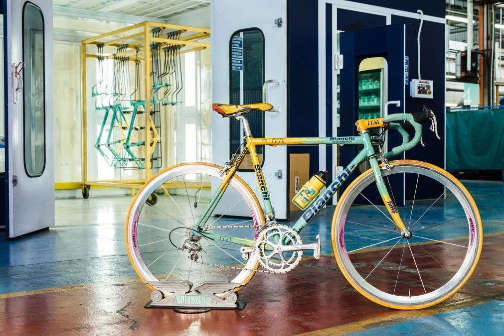 a history of bianchi s classic bikes