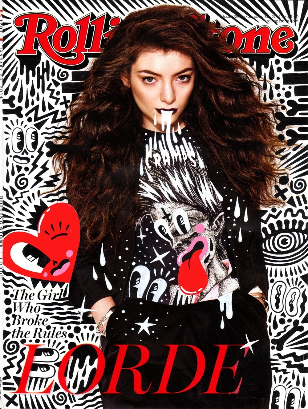 Cover Lorde Stones Rolling