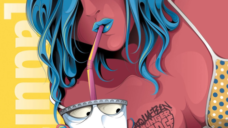 Man Tsun Illustrates New Adult Swim Poster Series Digital Arts