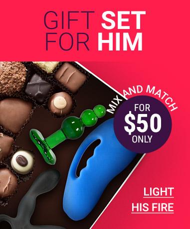 Spoil Him! Luxury Gift Set for Men For $60