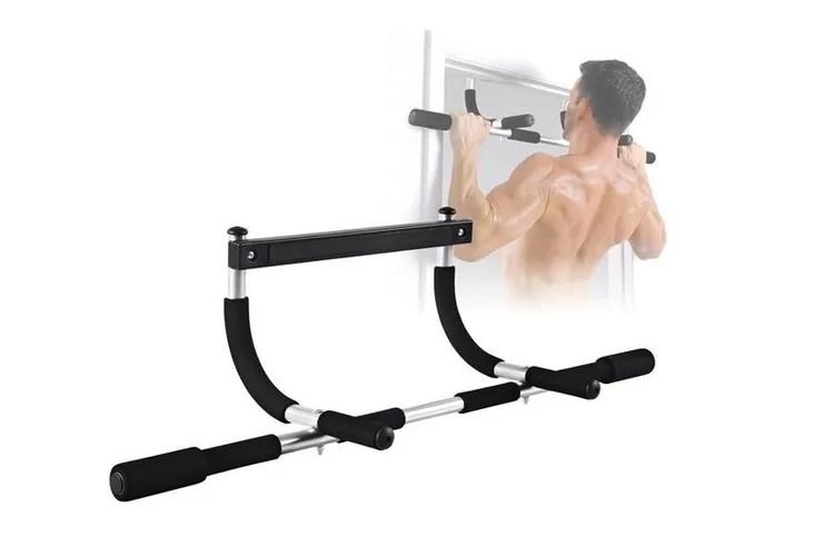 Multifunctionele deurtrainer / optrekstang Iron Gym