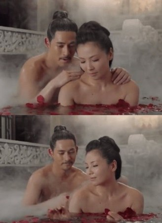 ▲42岁的刘涛,裸照和周益民