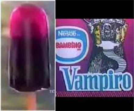 Paleta helada Vampiro de Bambino