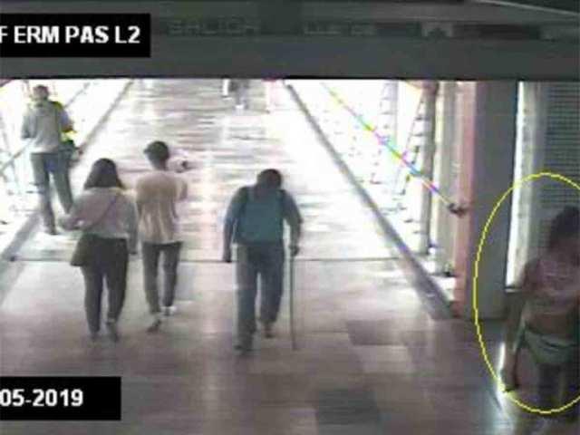 'Mamá te necesito'; ubican a Jessica en cámara de Metro Ermita