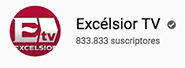 Excélsior TV YouTube logo