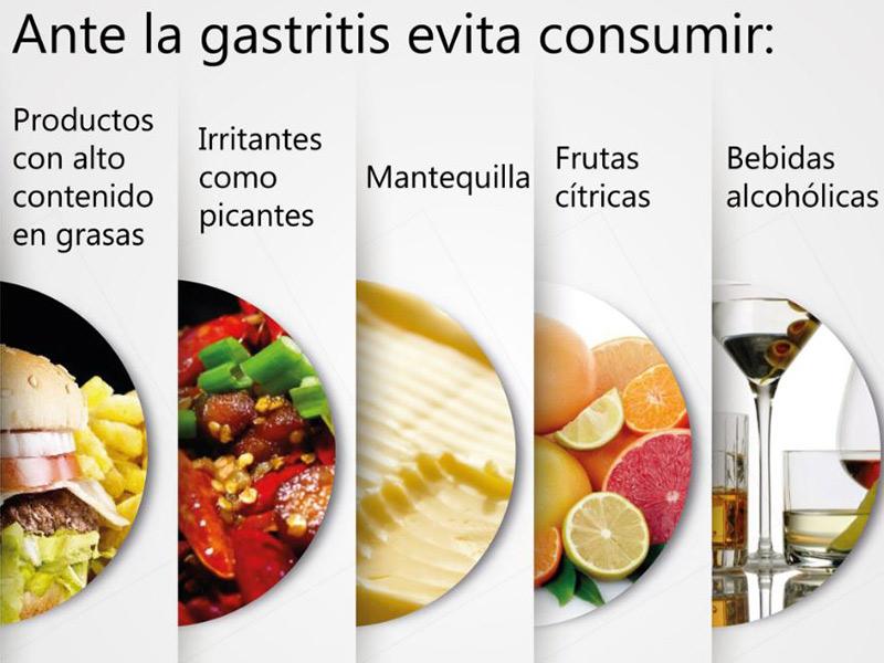 Resultado de imagen para gastritis alimentos