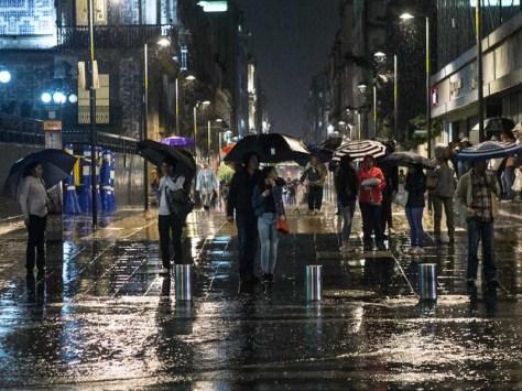 Resultado de imagen para Amenazan las lluvias a la CDMX y al Edomex