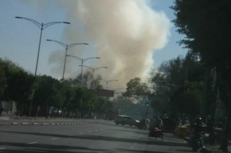 Resultado de imagen para Reportan incendio en CCH Oriente