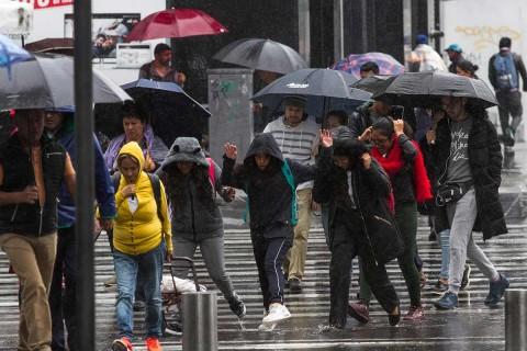 Se prevén lluvias con intervalos de chubascos en zonas de Nayarit, Jalisco, Colima, Tamaulipas, San Luis Potosí, Querétaro, Hidalgo, Campeche, Yucatán y Quintana Roo. Foto: Cuartoscuro