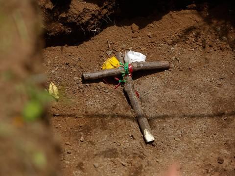 """Este miércoles, la comunidad Monimbó, de tradición indígena, amaneció atestada de miembros de las """"fuerzas combinadas"""" (Foto: AP)"""