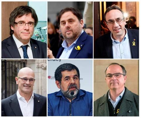 Un juez del Tribunal Supremo español ha abandonado sus pedidos de extradición de seis políticos separatistas catalanes acusados de rebelión (Foto: EFE)
