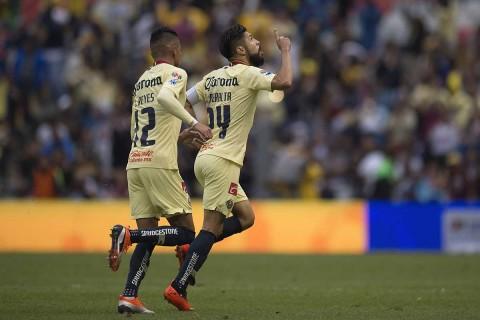 Oribe Peralta, América Pumas, Clásico Capitalino, Gol,