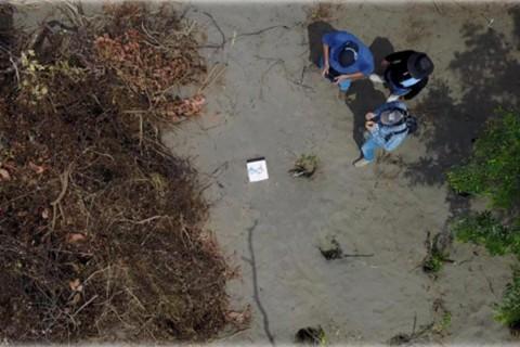 El fiscal general de Veracruz, Jorge Winckler Ortiz, no determinó el punto exacto del sitio donde se encontraron las fosas clandestinas por razones de seguridad. Foto: Especial