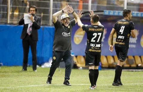 Celebración Maradona Gol