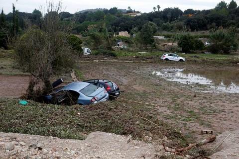Al menos 10 muertos en Mallorca, España, a causa de lluvias