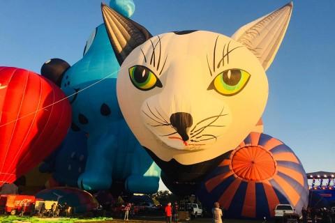Es uno de los tres festivales de aerostación más grande del mundo. Imagen tomada de Facebook: @FIGLeon