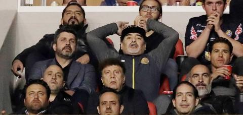 Maradona Investigado Altercado San Luis, Diego Armando Maradona, Final Ascenso MX, Atlético San Luis, Estadio Alfonso Lastras, Dorados Sinaloa, Golpes Maradona, Comisión Disciplinaria, Dorados Maradona, Noticias, Adrenalina, Excélsior,