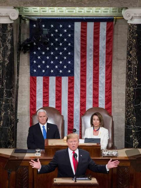Estado de la Unión Donald trump