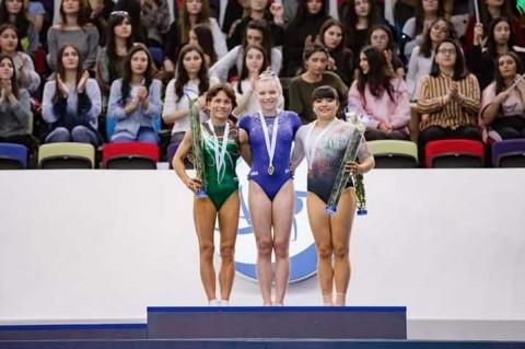 Alexa Moreno conquista bronce en Copa del Mundo