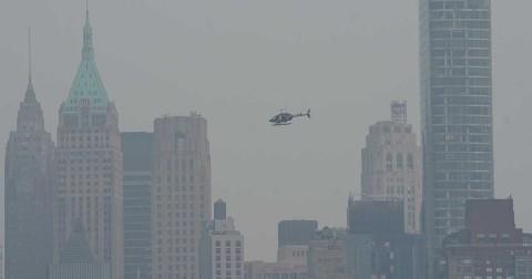 alerta en nueva york por contaminacion provocada por incendios v Pausa MX Alerta en Nueva York por contaminación provocada por incendios