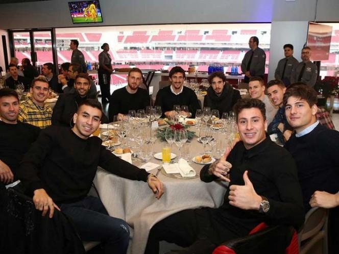 El Atlético tiene cena navideña en su nuevo estadio