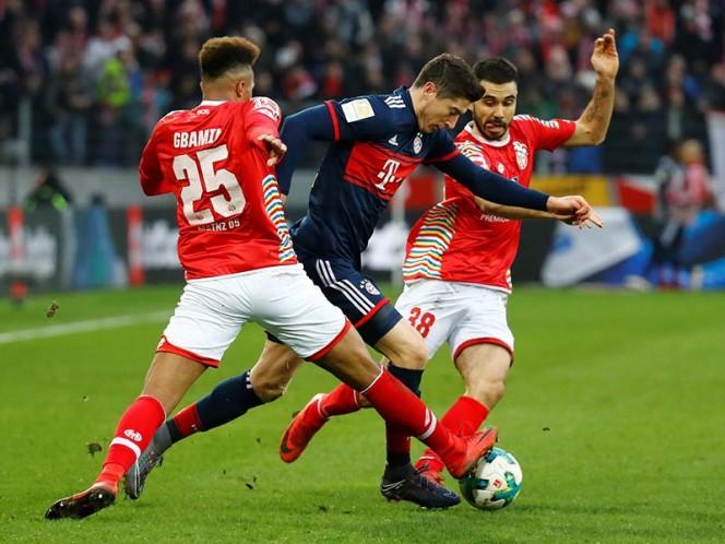 El Bayern Múnich no suelta la cima con esta victoria sobre el Mainz