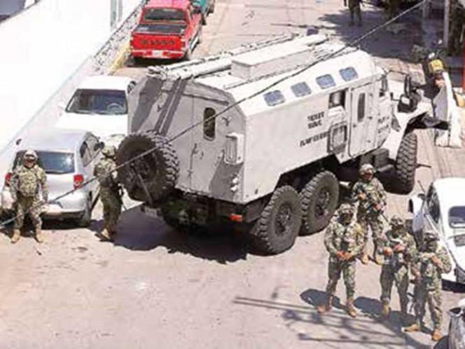 Entran al quite diez mil militares al mes; cubren incapacidad de las policías