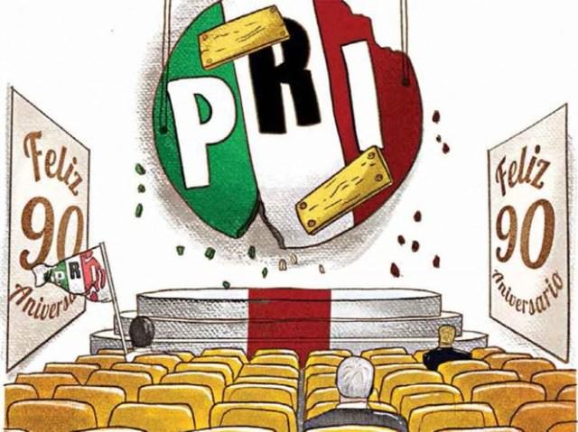 PRI busca renacer; cumple 90 años