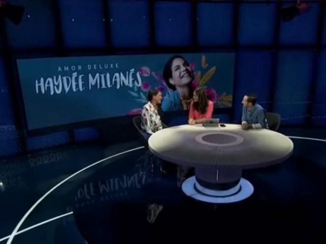 Haydée Milanés estuvo en Imagen Televisión. Foto: Captura de pantalla