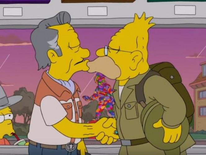 #LoveIsLove: El abuelo Simpson tuvo un romance gay