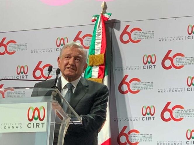 Medios contarán con libertada para manifestarse: López Obrador