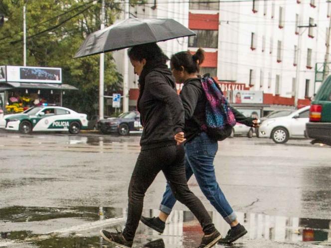 Lluvias y cielo nublado prevén para el Valle de México