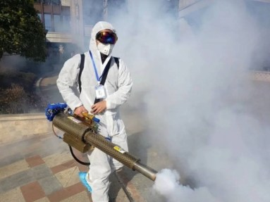 Para evitar contagios o una nueva ola de COVID-19, es indispensable sanitizar los espacios