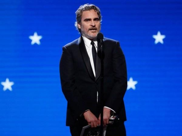 Joaquin Phoenix gana el Critics Choice Awards por