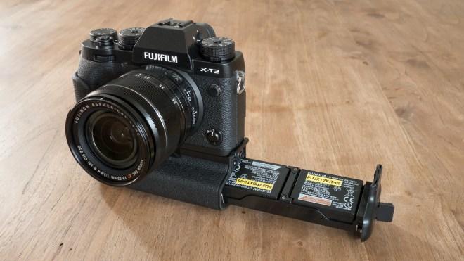 Fujifilm X-T2 batteries