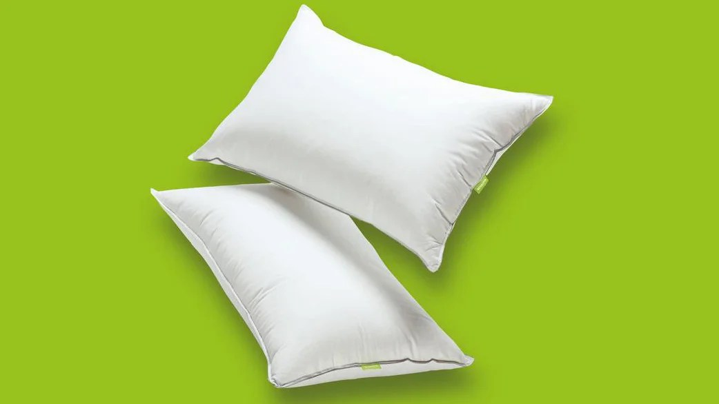 memory foam and down pillows