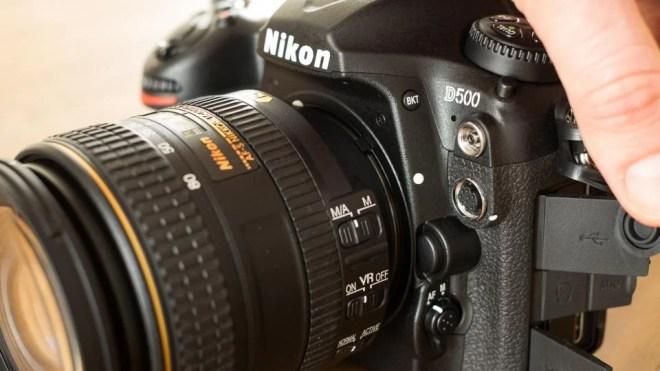Nikon D500 sockets