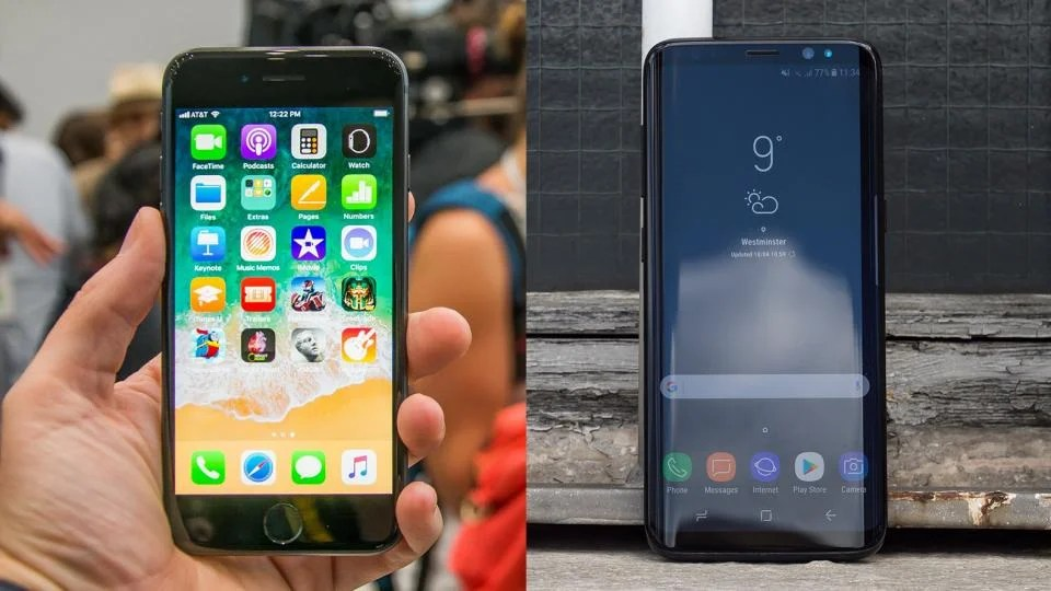 iPhone 8 vs Samsung Galaxy S8  Can Apple s latest slay Samsung s     iPhone 8 vs Samsung Galaxy S8  Can Apple s latest slay Samsung s