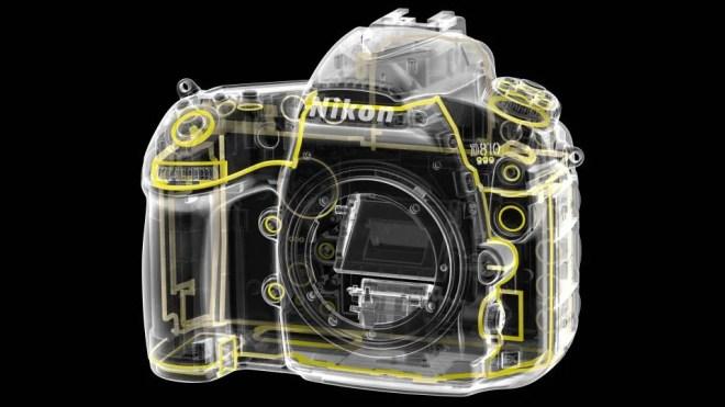 Nikon D810 weather sealing
