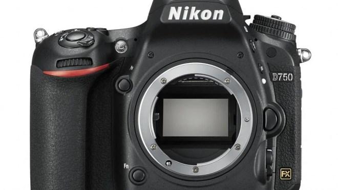 Nikon D750 sensor