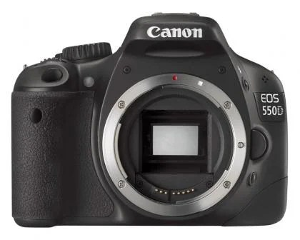 Canon EOS 550D front (no lens)