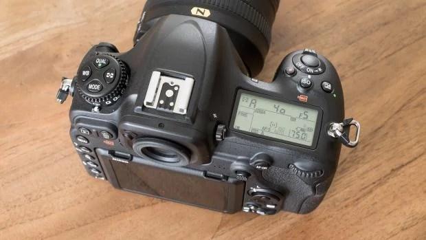 Nikon D500 top