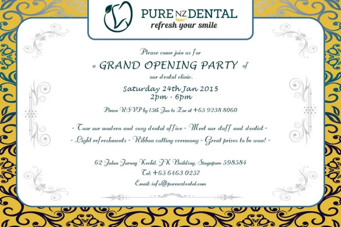 Shop Opening Invitation Card – Grand Opening Invitation Cards